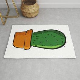 Cactus solo Majeran illustration Rug