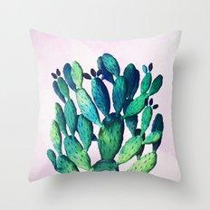 Cactus Three Ways #society6 #decor #buyart Throw Pillow