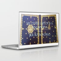 laptop Laptop & iPad Skins featuring Laptop by Jrr Bookworks