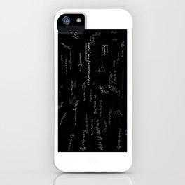 Mathspace - High Math Inspiration iPhone Case