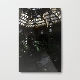 Indoor Garden of the Biltmore Metal Print