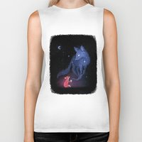 justin timberlake Biker Tanks featuring Celestial by Freeminds