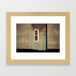 Belmont Framed Art Print