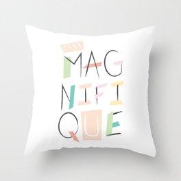 c'est magnifique Throw Pillow