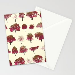 Autumn Trees Stationery Cards