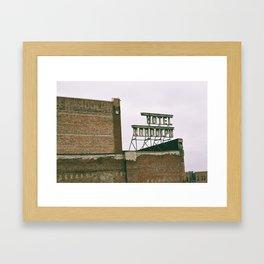 Hotel Randolph Framed Art Print