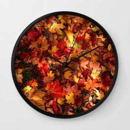 Fall in love in Dover Wall Clock