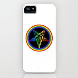 Gay for Satan iPhone Case