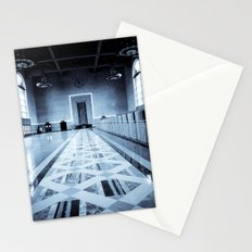 Old Ticketing Hall - Union Station - Los Angeles Stationery Cards
