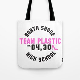 Team Plastic Tote Bag