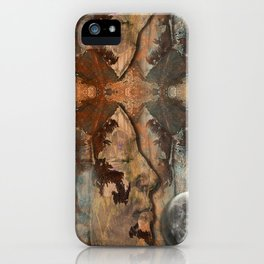 Me and Myself in You iPhone Case