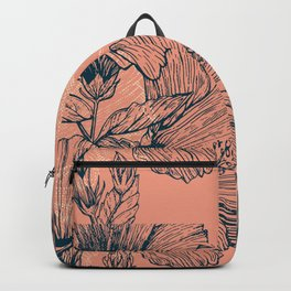 Hibiscus Colors Backpack