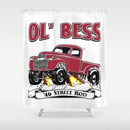 Ottman's 46 Street Rod Shower Curtain