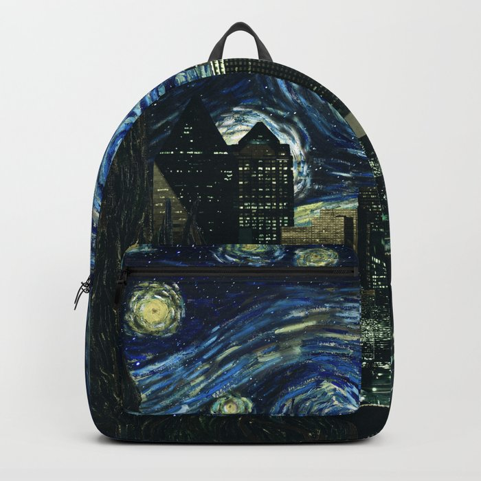 Starry Nightscape Backpack