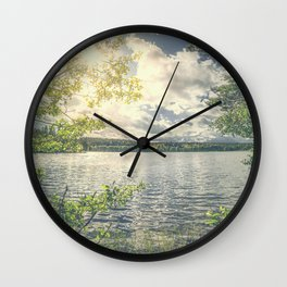 Peekaboo 7 Wall Clock