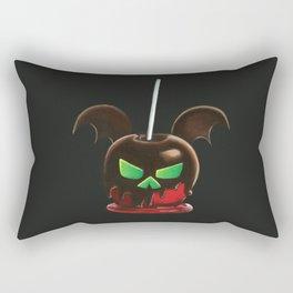 Bat's Day Apple Rectangular Pillow