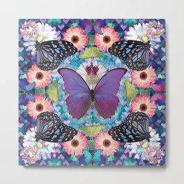 queen of the butterflies Metal Print