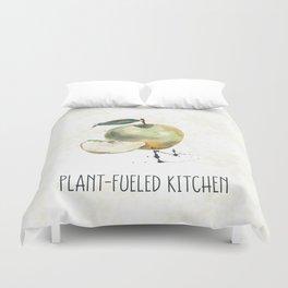 Plant-Fueled Kitchen Apple Duvet Cover