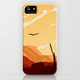West Texas Landscape iPhone Case
