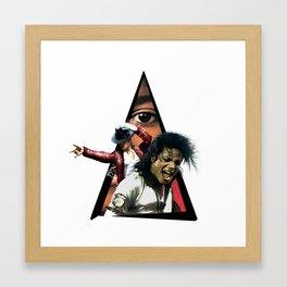 Youtriangle ∆ Michael J. Framed Art Print