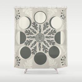 Luna Poetica Shower Curtain