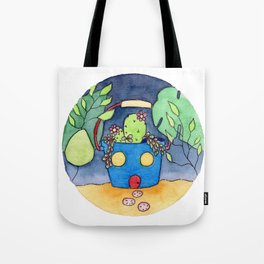 In The Garden: July Tote Bag
