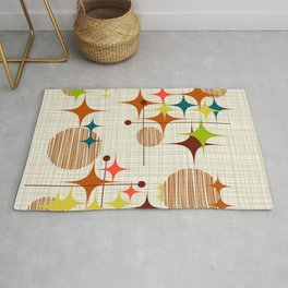 Starbursts and Globes Rug