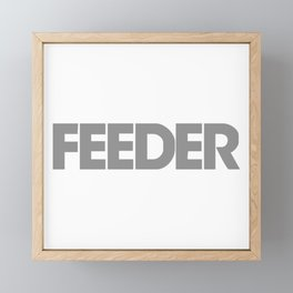 Feder new Framed Mini Art Print