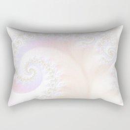 Ocean Treasure -- Mother of Pearls Mandelbrot Rectangular Pillow