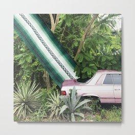 Jungle Park Metal Print
