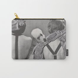 Pining Poodle - collage Carry-All Pouch