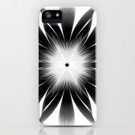 Dark Starburst iPhone Case