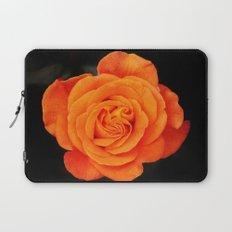 Romantic Rose Orange Laptop Sleeve