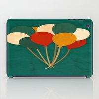 balloons iPad Cases featuring Balloons  by Laura Santeler