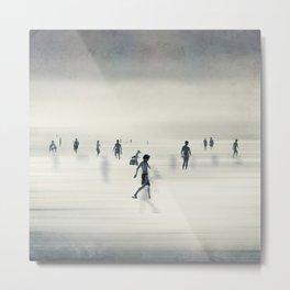 floating on light Metal Print