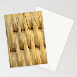 Basket Weave Texture (1) Stationery Cards
