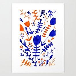 A touch of dutch Art Print