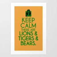 Keep Calm Dorothy Art Print