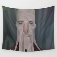 cthulhu Wall Tapestries featuring cthulhu by Crooked Octopus