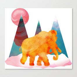 Mammoth Mountains Canvas Print