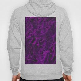Pellucidar Purple Abstract Hoody