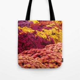 Fall Mums Tote Bag