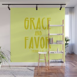 Grace and Favor Wall Mural