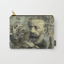 Vintage Jules Verne Periodical Cover Carry-All Pouch