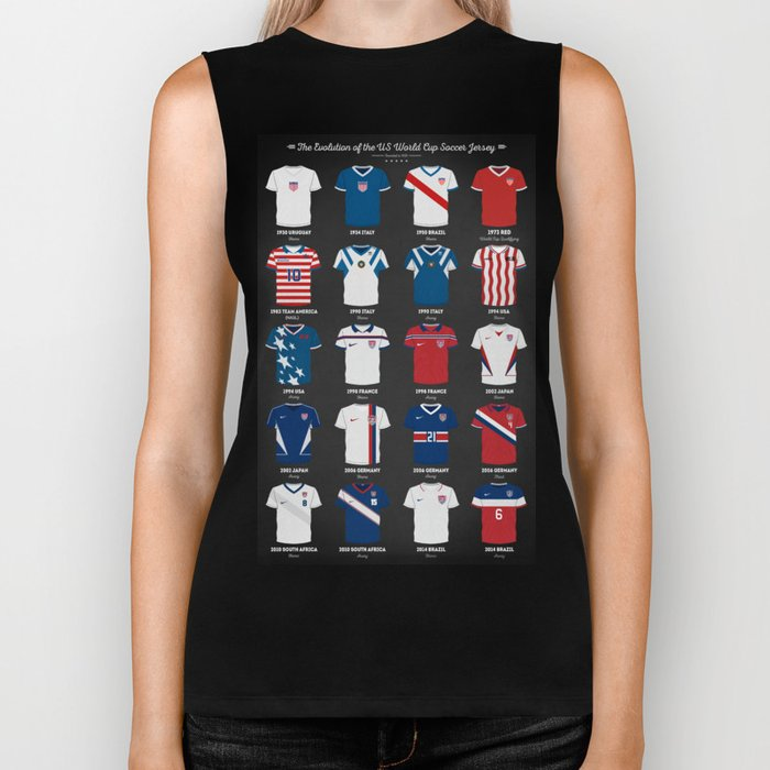 The Evolution Of The Us World Cup Soccer Jersey Biker Tank