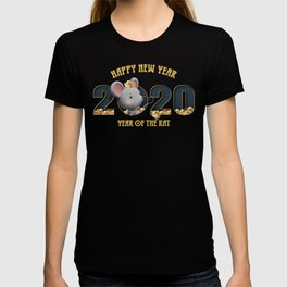 happy new year 2020 year of the rat 3 T-shirt