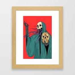 The Witchdoctor Framed Art Print