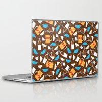 coffe Laptop & iPad Skins featuring Cup of coffe? by Olga  Varlamova