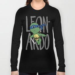 TMNT: Leonardo (Cute & Dangerous) Long Sleeve T-shirt