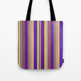 awning stripe Tote Bag